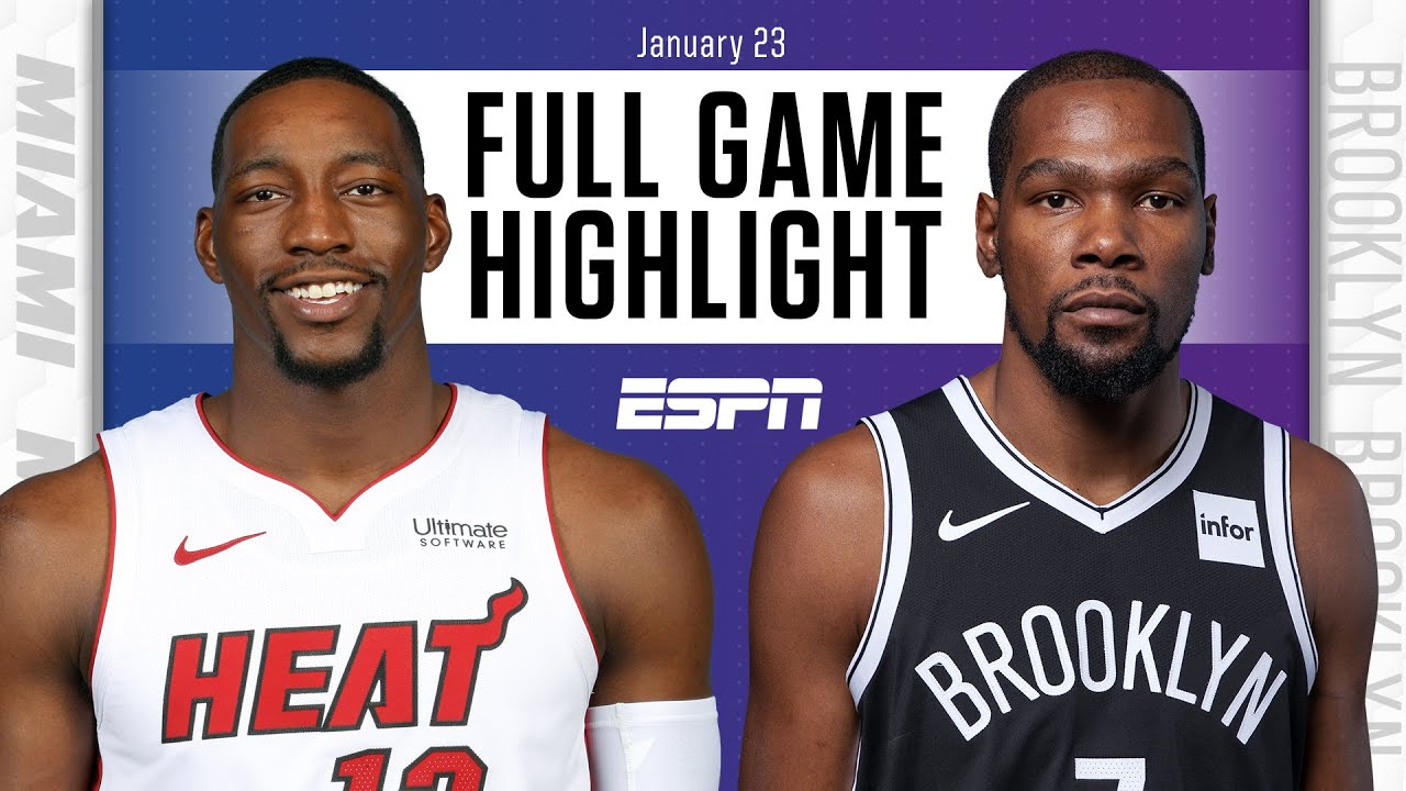 Heat vs. Nets - Game Recap - January 23, 2021 - ESPN