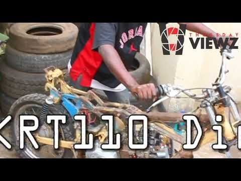 Thursday Viewz presents the skrt110 'homemade'Dirtbike in Nairobi KE 2018
