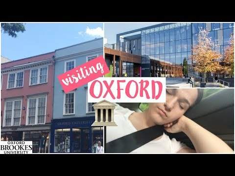 Visiting Oxford! | Jess Louise