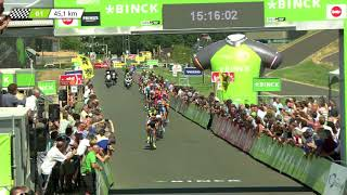 BinckBank Tour 2018: Stage 6 Last lap