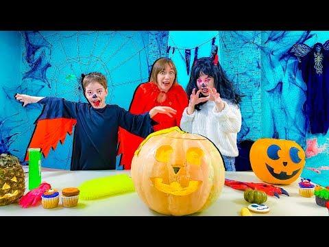 Челлендж на Хеллоуин - ЧТО ВНУТРИ: сладость или гадость? Halloween challenge