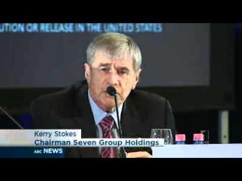 Stokes unveils media merger plan
