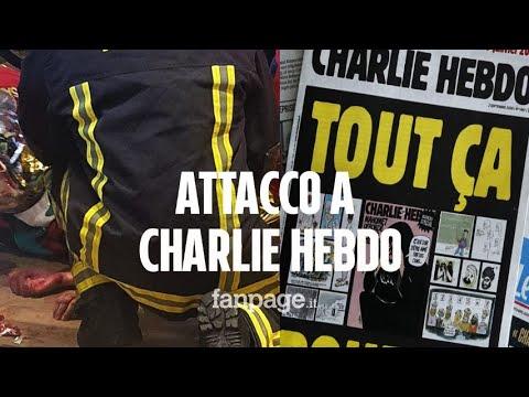 Attacco alla redazione di Charlie Hebdo: quattro feriti, due sono gravi