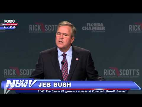 Jeb Bush speaks at economic growth summit