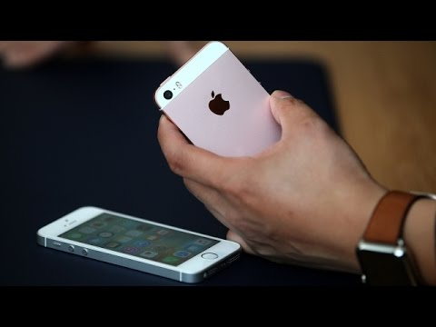 Apple's iPhone SE Wasn't Made For Small Hands - Newsy