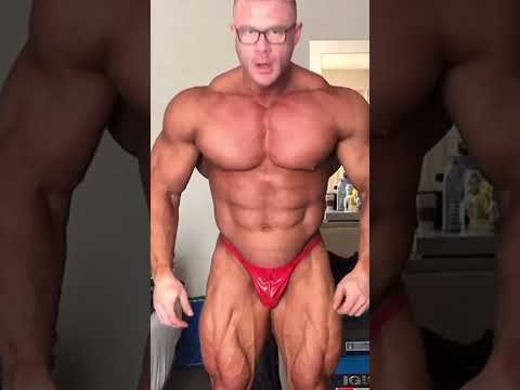 Eiren Gauley Flexing And Posing