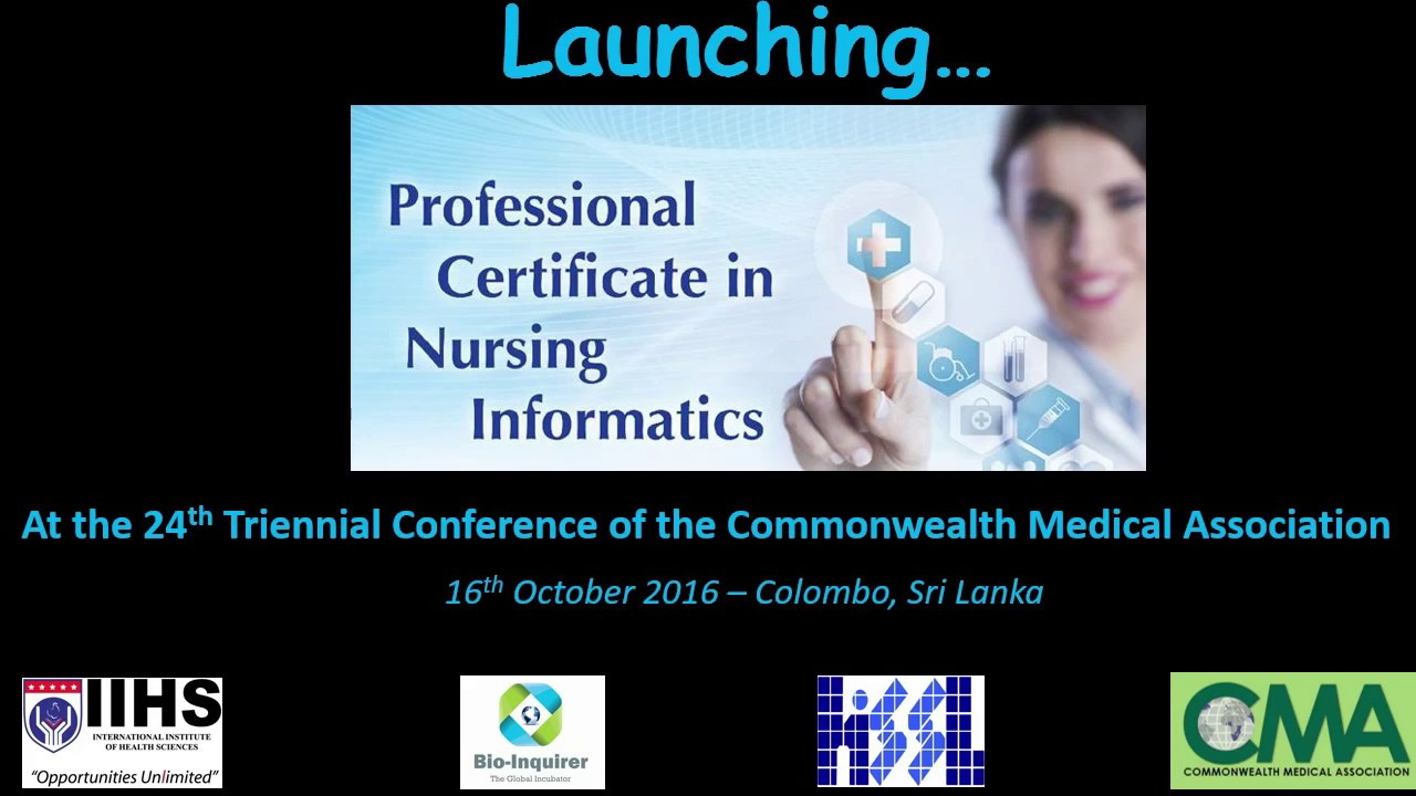 Professional Certificate In Nursing Informatics Iihs Youtube