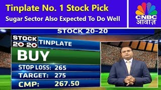 Tinplate is the no. 1 stock pick of the day with the expectation of...