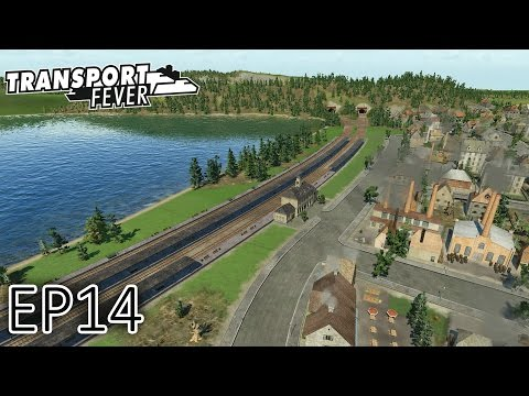 Transport Fever Gameplay | The Great Lakes | Into Canada! | S2 - Episode 14