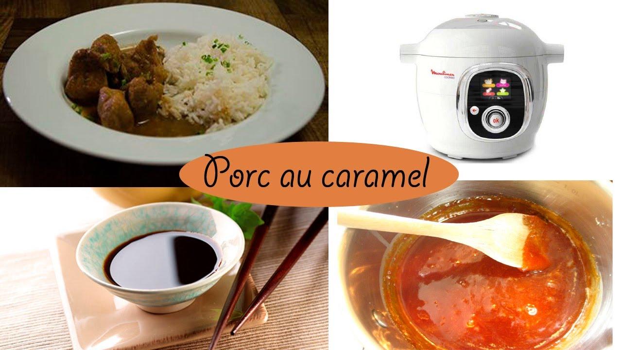 Recette porc au caramel avec le cook o de moulinex facile youtube - Recette paupiette de porc facile ...