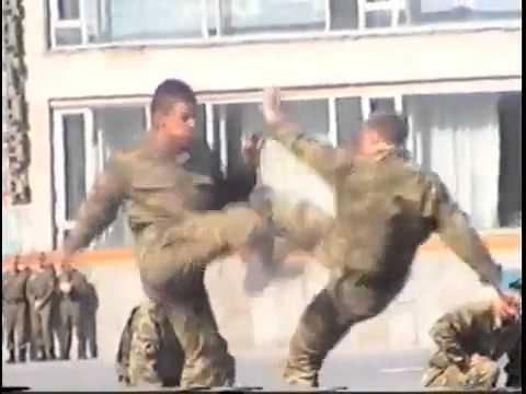 Тренировка Спецназа ВДВ