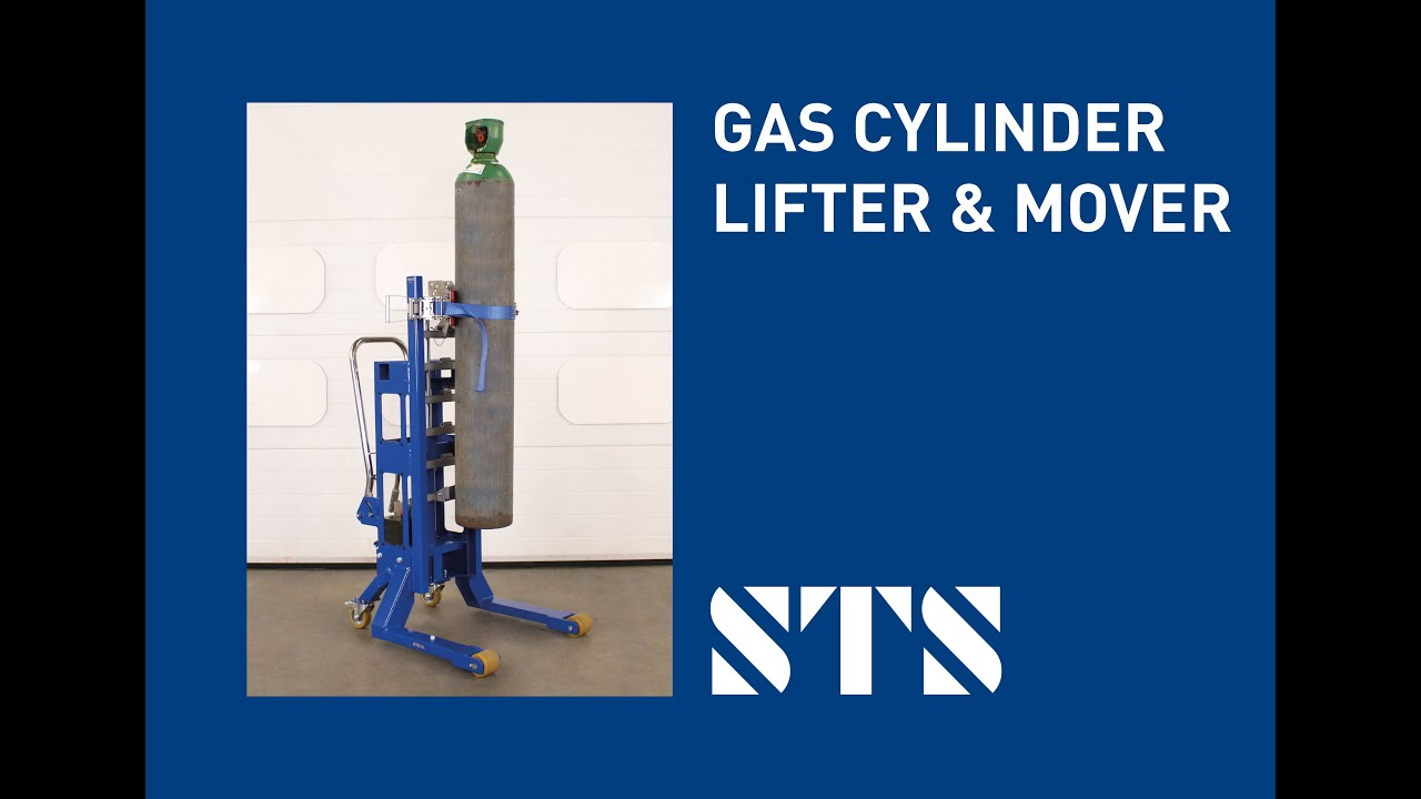 Gas Cylinder Lifter & Mover (DTP03-R500-CA10)