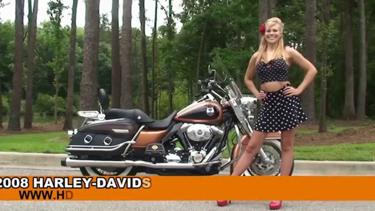 Harley Road King For Sale >> Used 2008 Harley Davidson Road King Classic Motorcycles for sale - Bainbridge, GA - YouTube