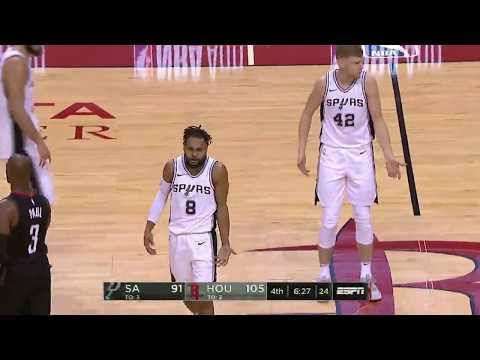 Davis Bertans 12 pts vs. Rockets - December 15, 2017