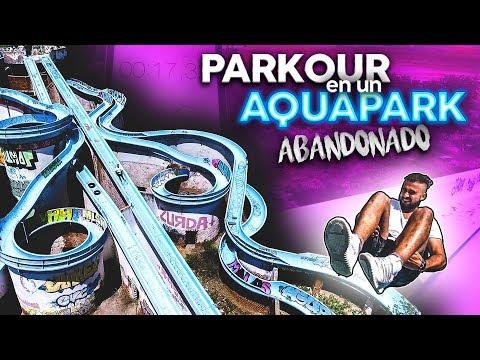 ¿Quién es más rápido de los WHAT?🏃💨 - RETOS de PARKOUR en un AQUAPARK ABANDONADO