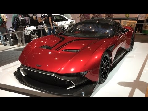 Aston Martin Vulcan Red Youtube