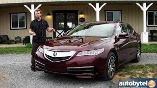2015 Acura TLX Car Video Review *All New*