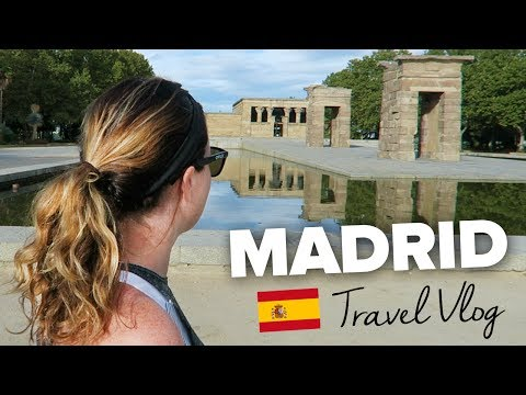 24 Hours in MADRID. Madrid Travel Blog