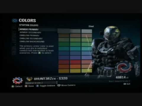 how to make emile noble 4 in the halo reach armory youtube