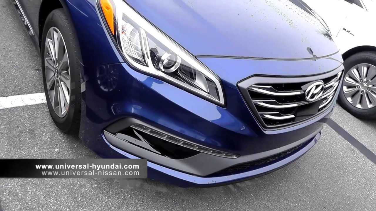 2017 hyundai sonata sport limited - YouTube
