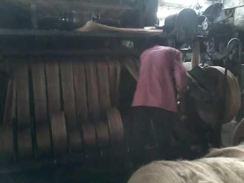 JUTE Carding & Drawing  machine, Janata jute mill by SB