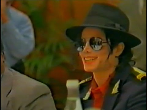 Michael Jackson in Moscow - 1996 (NTV-archive)