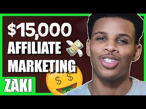 HOW YOU CAN MAKE $15-20K AFFILIATE MARKETING