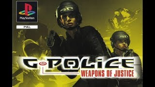 G Police Weapons of Justice (PS1)