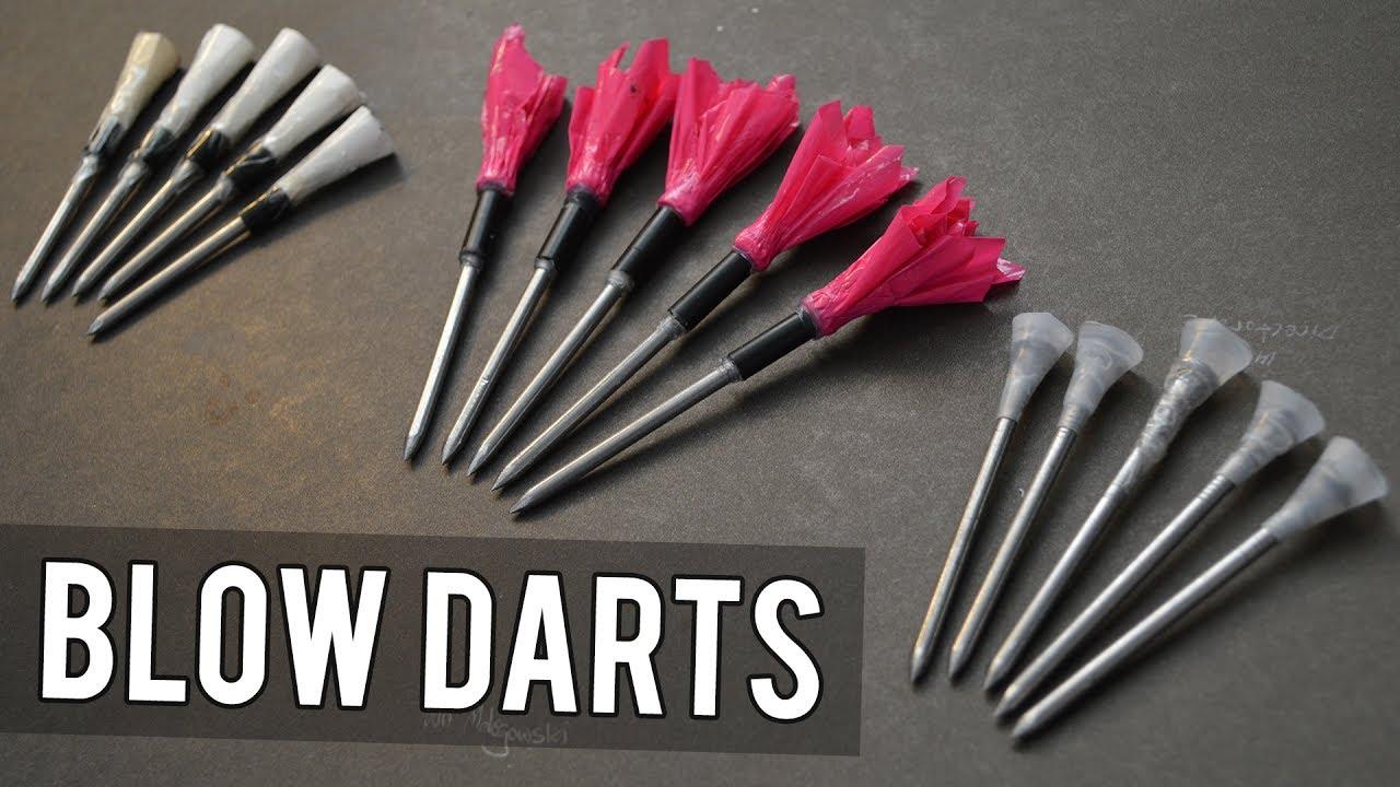 How to Make Blowgun/Airgun Darts