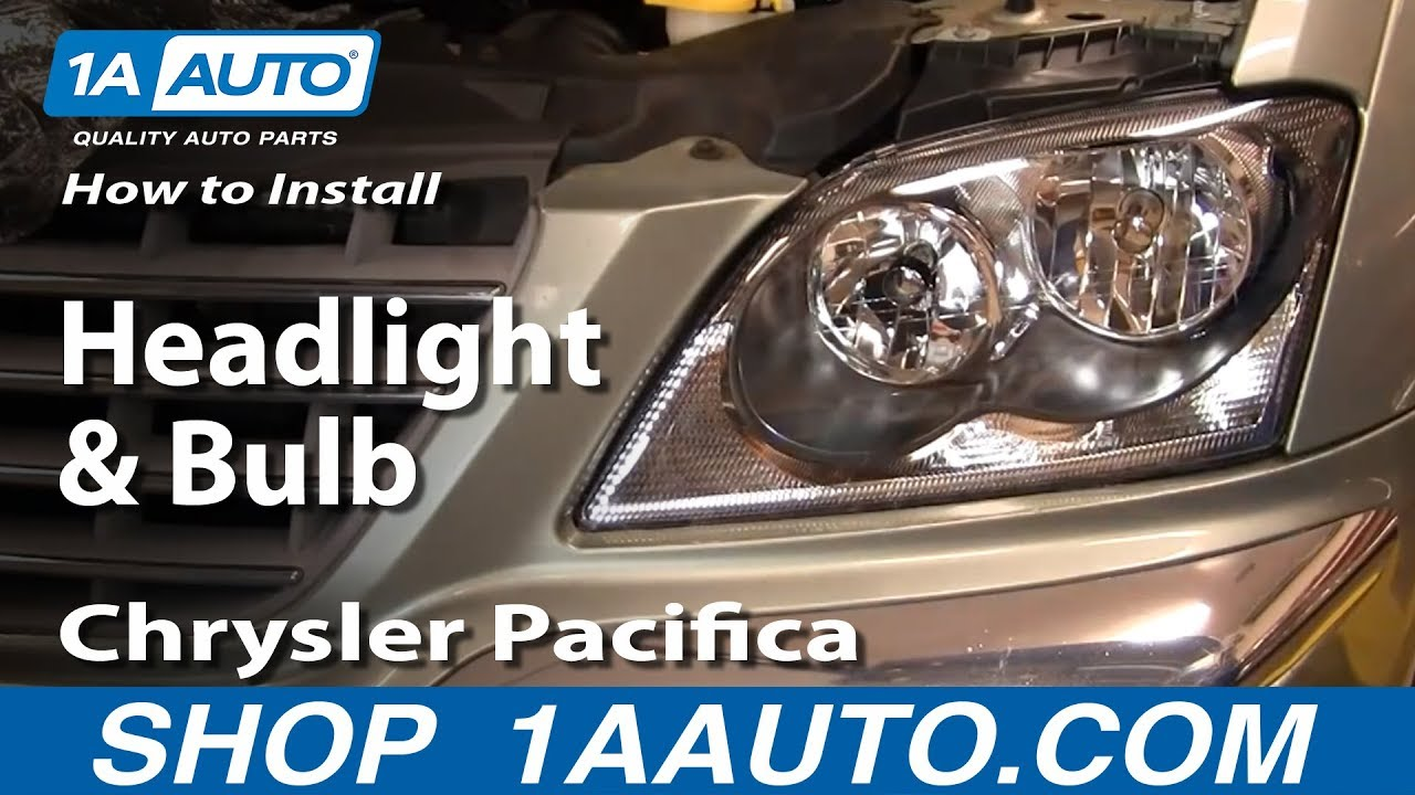 How To Replace Headlights 04 06 Chrysler Pacifica