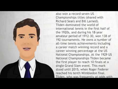 Bill Tilden - Wiki Videos