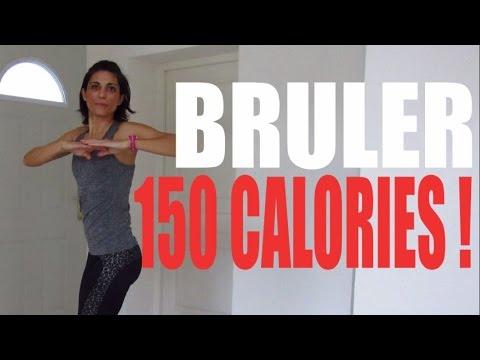 Brûler 150 calories