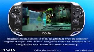 PS Vita Weekly Update #46 - 25/5/2013