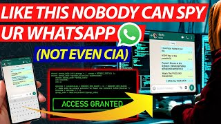 Not even CIA can spy your WhatsApp if you do this. How to protect WhatsApp