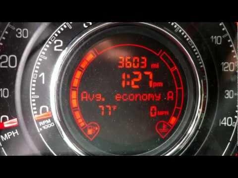 2012 Fiat 500 Real-world Fuel Economy