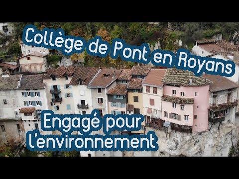 Les actions en faveur de l'environnement [Collège de Pont en Royans]