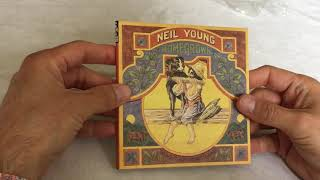 UNBOXING Neil Young - Homegrown (2020 CD)