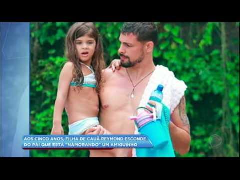 Hora da Venenosa: Cauâ Reymond revela que a filha de 5 anos escondeu namoro