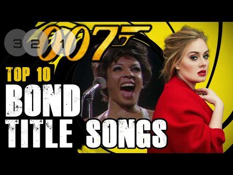 Ranking 007 - Top 10 Bond Title Songs