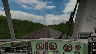 Open Rails - Hannover - Bremen German Railroads 12 MSTS