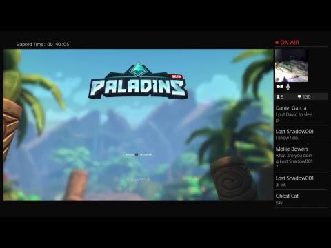Paladins (PS4) - Defeat After Defeat! WE SUCK!!