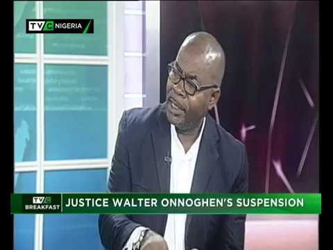 TVC Breakfast Show 28th Jan., 2019| Justice Walter Onnoghen's Suspension