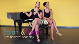 Lady Styling Kizomba with 2 Sarahs (Kizombalove) & isaac G