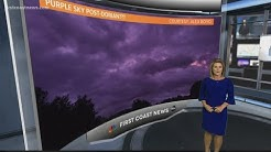 EXPLAINER: Why was the sky purple after Hurricane Dorian?