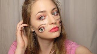 Образ на хэллоуин / грим на хэлоуин / макияж 4 глаза