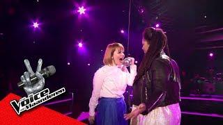 Joséphine en Anouchka zingen 'Caught Out There' | The Battles | The Voice van Vlaanderen | VTM