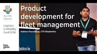Product development for fleet management