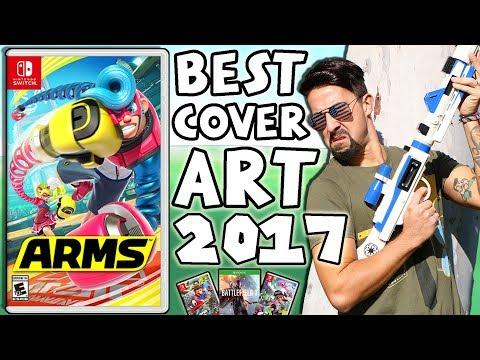 BEST VIDEO GAME COVER ART 2017 - DOES MODERN BOX ART SUCK?