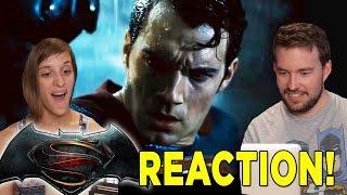 Batman v Superman Final Trailer REACTION!