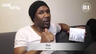 "Slaï - Dédicace Album ""Je Te Ressemble"" AXEL TONY"